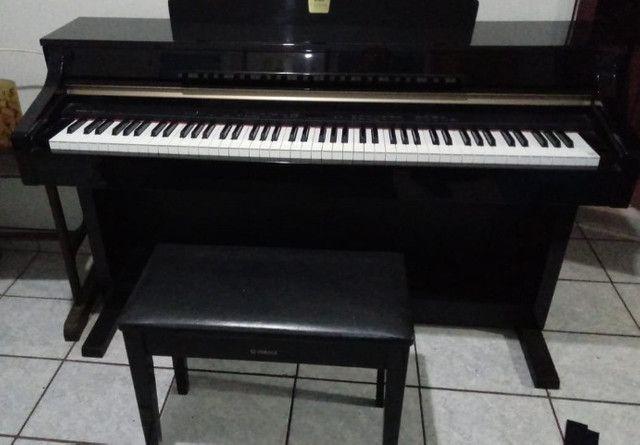 piano yamaha clavinova cpl330 eletrônico - Foto 3