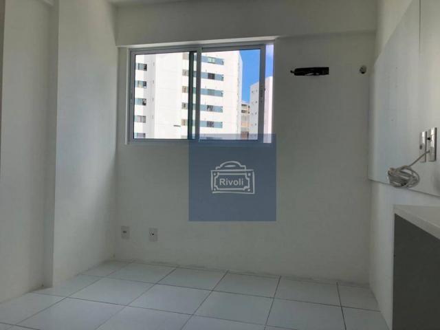 Apartamento para alugar, 48 m² por R$ 2.100,00/mês - Tamarineira - Recife/PE - Foto 3