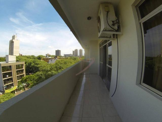 Apartamento com 4 dormitórios para alugar, 181 m² por R$ 1.650,00/mês - Centro - Foz do Ig - Foto 8