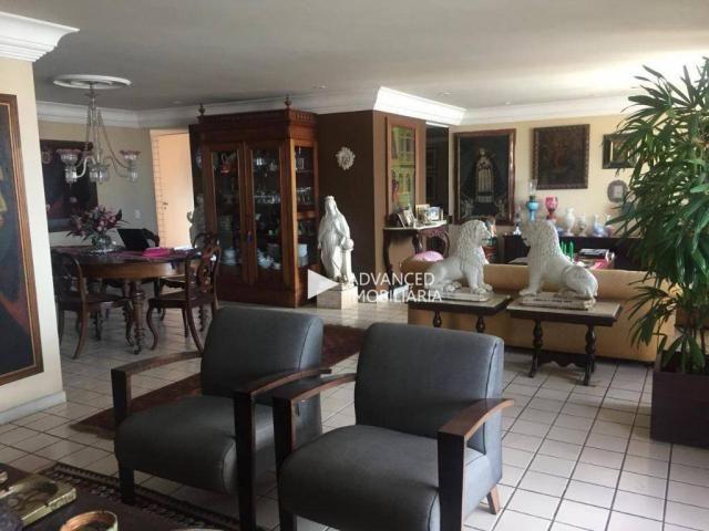 Apartamento com 4 dormitórios à venda, 260 m² por R$ 1.500.000 - Graças - Recife/PE - Foto 3