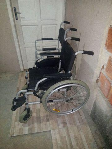 2 cadeiras de rodas novas 1000 mil reais - Foto 3