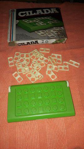 Brinquedos antigo jogo Cilada da estrela - completo - Foto 3