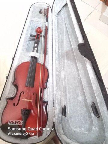 Violino perfeito estado 4x4 (Capa Inclusa)