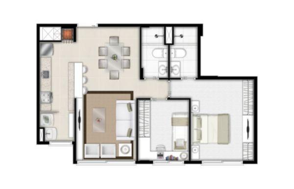 Apartamento à venda com 2 dormitórios em São sebastião, Porto alegre cod:EX8856 - Foto 2