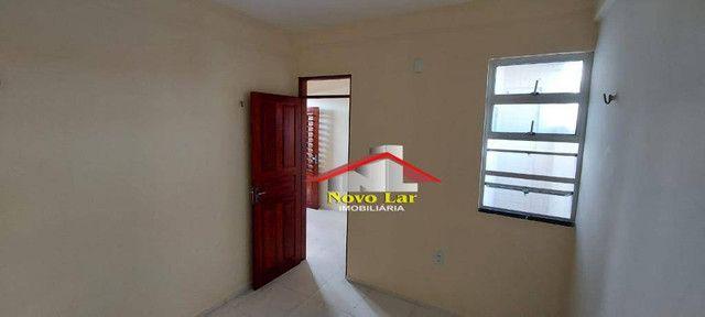 Apartamento com 1 dormitório para alugar, 29 m² por R$ 600,00/mês - José Bonifácio - Forta - Foto 8