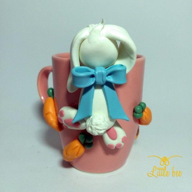 Caneca Personalizada em Biscuit - Presentes - Lembrancinhas - Biscuit 3D - Foto 3