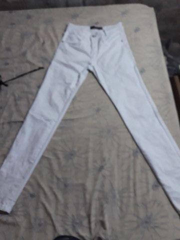 Calça branca 38 nova - Foto 3