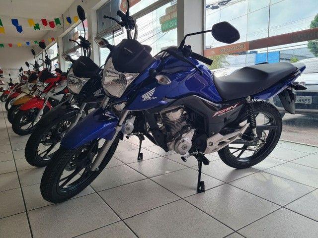 Moto Honda Fan 160 Financiada Entrada: 1.000 Autônomo e Assalariado!!! - Foto 2