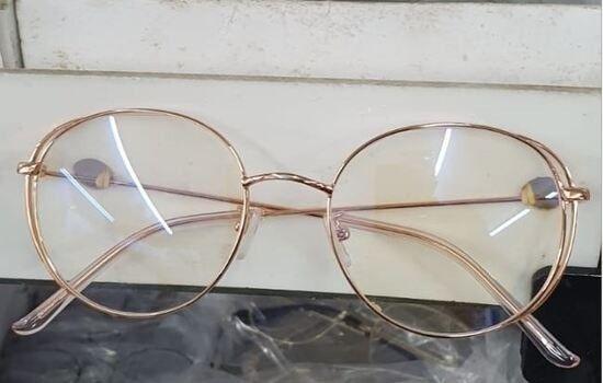 Armação de Óculos Feminino Rosê Vários Estilos Blogueira - Foto 6