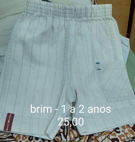 Shorts de 1 a 3 anos - vários  - Foto 4