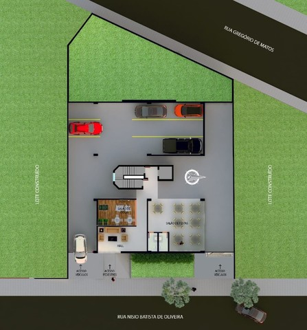 Apartamento à venda, 2 quartos, 1 suíte, 3 vagas, São Lucas - Belo Horizonte/MG - Foto 7