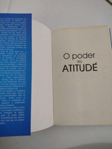 Livro Poder Atitude Empresa Clientes Leitura Auto Ajuda  - Foto 3