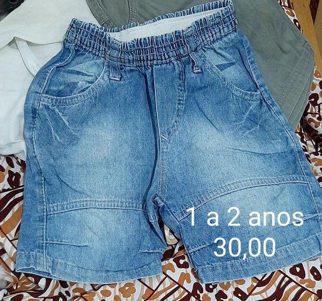 Shorts de 1 a 3 anos - vários  - Foto 5