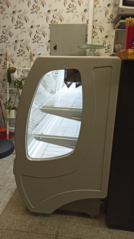 Seminova garantia até Nov/21!!! Estufa vitrine refrigerada confeitaria Star Plus Gelopar - Foto 5