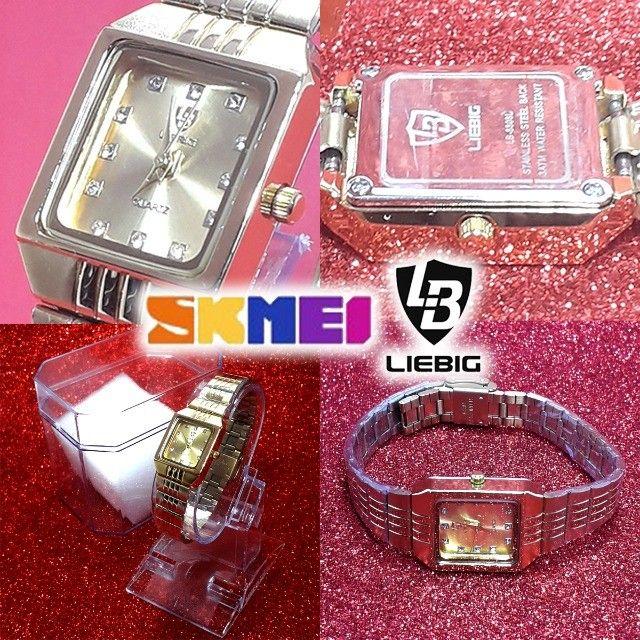 Relógio Skmei Mini Feminino Luxo - Original! - Foto 5