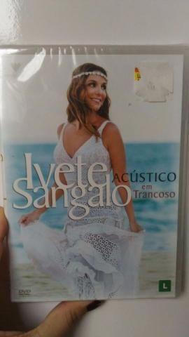 3 DVD's (Ivete, Fábio, Gusttavo) + 1 CD (Djavan Novelas)