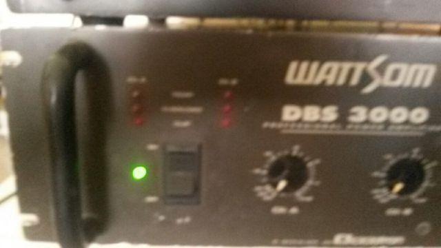 Amplificador dbs 3000