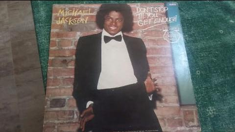 Michael Jackson 1979 LP raro. Excelente estado. Don't Stop Til You Get Enough