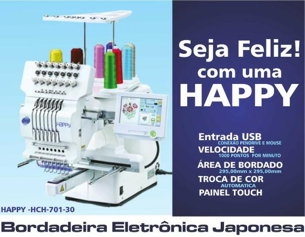 Bordadeira eletrônica Happy hch 701-30