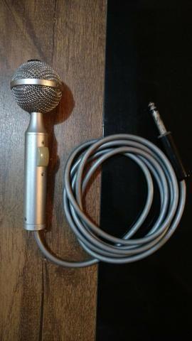 Microfone Original do Silvio Santos Vintage Colecionador Anos 80