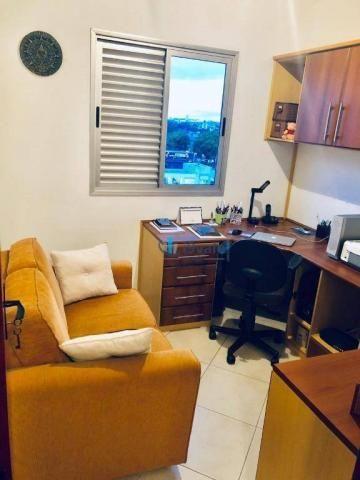 Apartamento com 3 dormitórios sendo 1 suíte à venda, 70 m² - vila industrial - são josé do - Foto 10