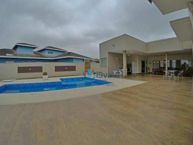 Linda casa térrea à venda, condomínio alto luxo mirante do vale, jacareí-sp - Foto 14