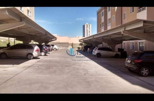 Apartamento com 2 dormitórios à venda, 54 m² por r$ 180.000 - villa branca - jacareí/sp - Foto 5