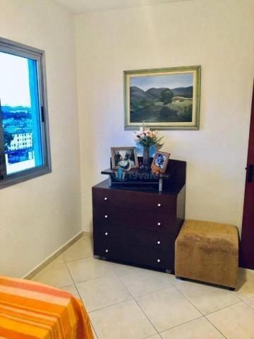Apartamento com 3 dormitórios sendo 1 suíte à venda, 70 m² - vila industrial - são josé do - Foto 3