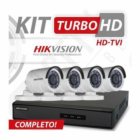 Kit de câmeras auto monitorada pelo celular em HD