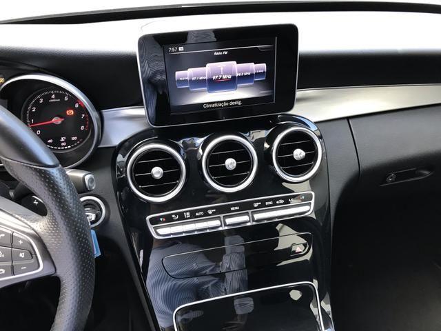 Mercedes-Benz C180 2016 1.6 cgi 16v turbo Gasolina 4p automático - Foto 10