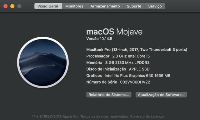 MacBook Pro 2017 com caixa - Foto 4