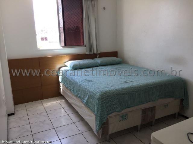 (Cod.:001 - Damas) - Mobiliado - Vendo Apartamento com 3 Quartos, 2 Vagas - Foto 9