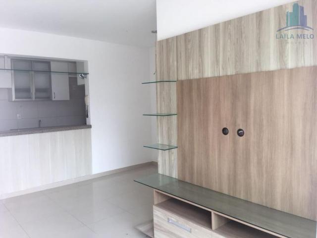 Apartamento villa bella mobiliado com 02 suítes; engenheiro luciano cavalcante, fortaleza - Foto 6