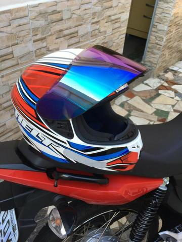 Vendo capacete helt New Race topppp - Foto 2