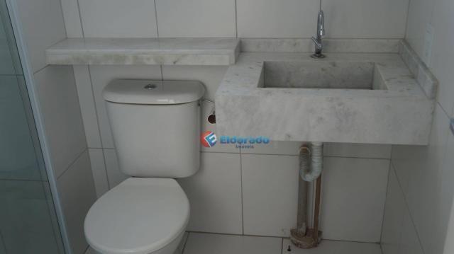 Apartamento com 2 dormitórios para alugar, 45 m² por r$ 550,00/mês - residencial guairá -  - Foto 17