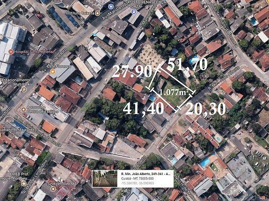 Terreno 1077m no Araés (Direto com Proprietário) - Foto 2