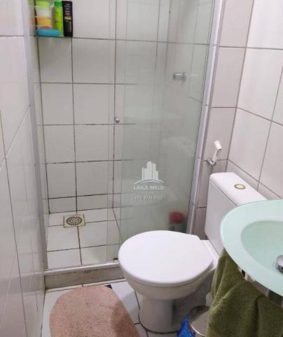 Apartamento com 3 dormitórios à venda, 53 m² próximo ao mega atacadista- cambeba - fortale - Foto 10