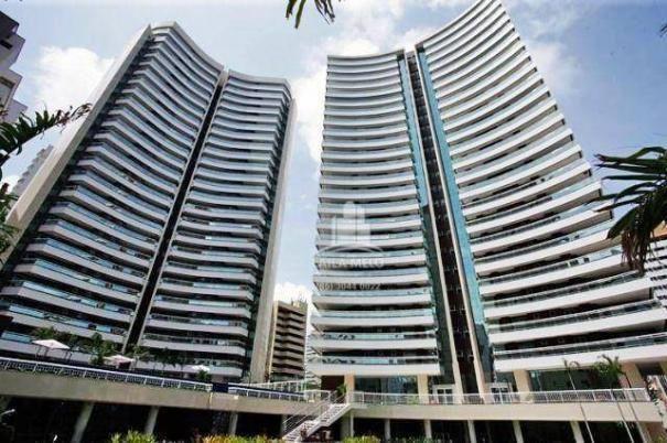 Apartamento no meireles,259 m2,4 quartos,4 vagas,lazer completo,paço do bem