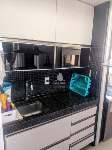 Apartamento no lago jacarey,74 m2,3 quartos,lazer completo,cidade dos funcionários - Foto 6