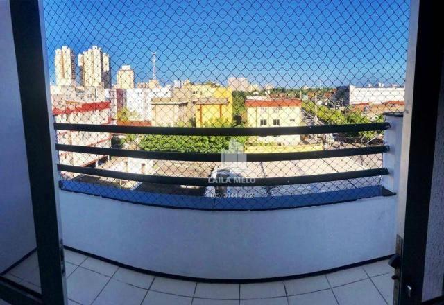 Apartamento com 3 dormitórios à venda, 77 m² por r$ 258.000,00 - benfica - fortaleza/ce - Foto 7