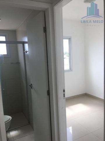 Apartamento villa bella mobiliado com 02 suítes; engenheiro luciano cavalcante, fortaleza - Foto 11