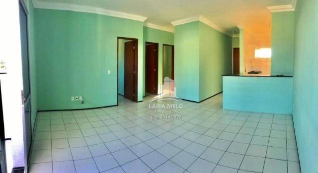 Apartamento com 3 dormitórios à venda, 77 m² por r$ 258.000,00 - benfica - fortaleza/ce - Foto 3