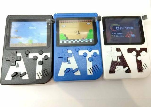 Mini vídeo game AT 400 jogos
