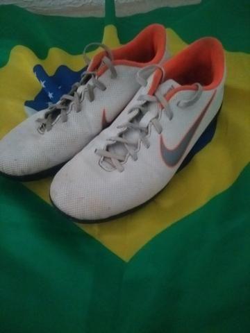 Chuteira society Nike mercurial - Foto 3