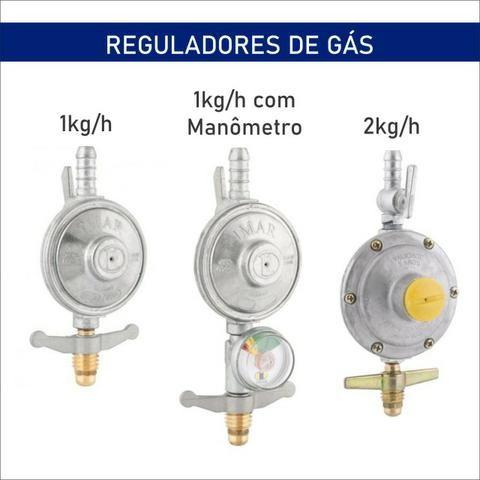 Reguladores de Gás - (valores na descrição)