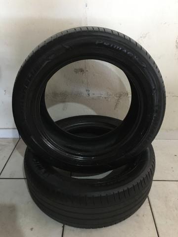Par de pneus Michelin 205/55 R16 Honda City - Foto 3