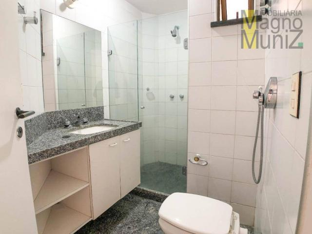 Apartamento com 4 suítes para alugar, 300 m² por r$ 2.500/ano - meireles - fortaleza/ce - Foto 12
