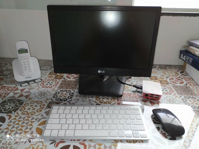 PC Rapsberry Pi com sistema Linux