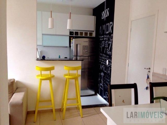 Apartamento 02 quartos em Colina de Laranjeiras - Armários em todos os ambientes! - Foto 10