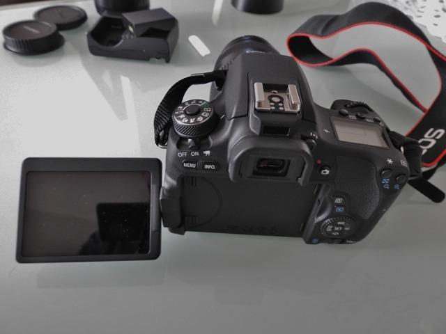 Máquina Fotográfica Canon Rebel T6s - Foto 2